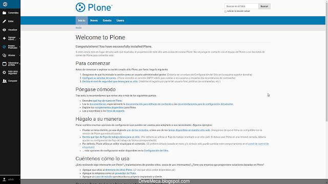 Personalizamos un sitio en Plone