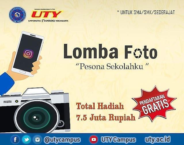 Lomba Foto Instagram UTY 2019 SMA Sederajat Gratis