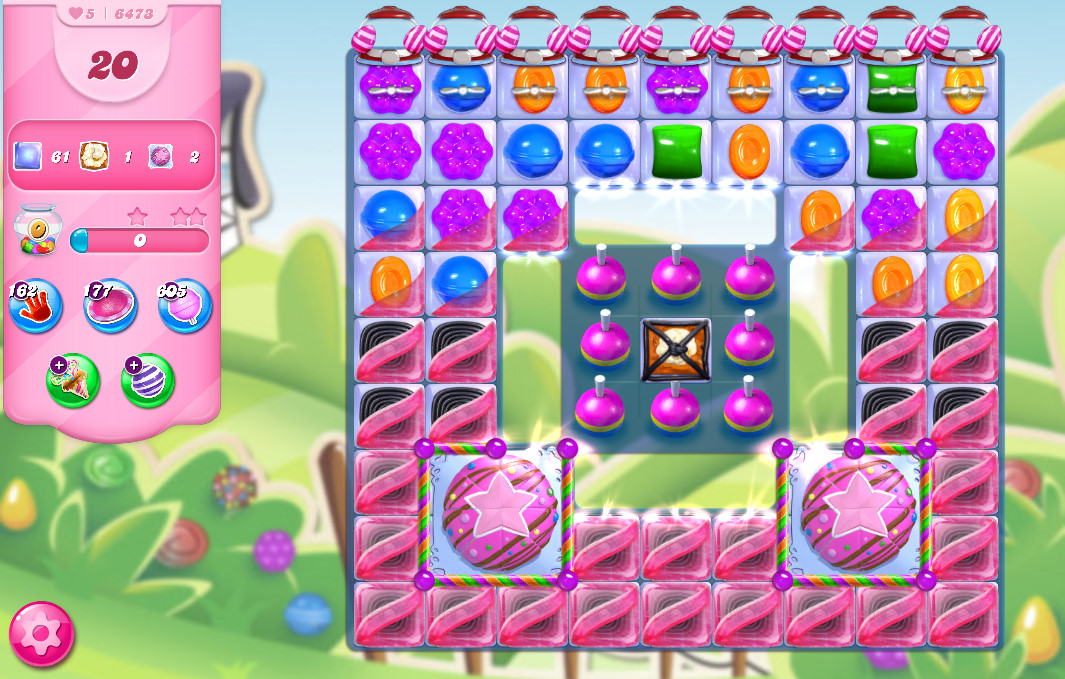 Candy Crush Saga level 6473