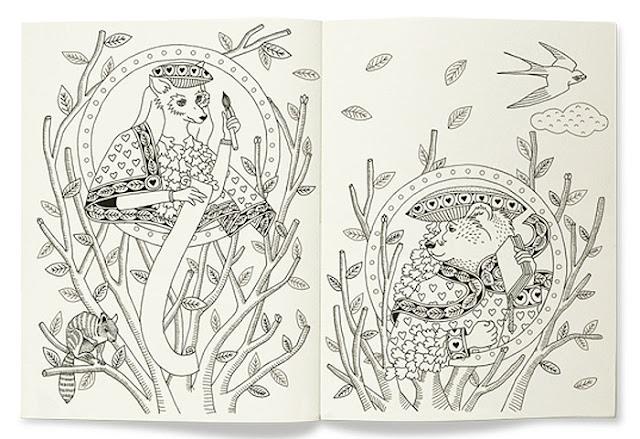 hermes coloring book