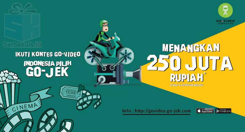 Go-Video Competition Berhadiah Uang Tunai 350 Juta