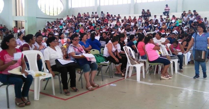 DRE Piura contratará 7 mil maestros para asegurar Buen Inicio del Año Escolar 2018