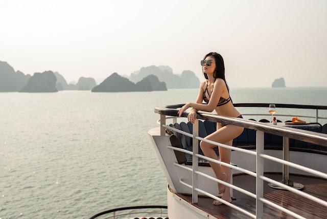Phan Hương - Lan cave - Vietnam TV star