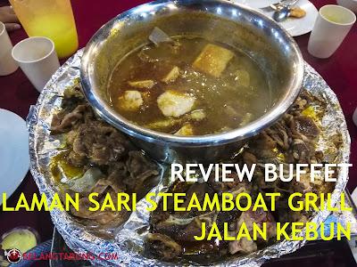 Laman Sari Steamboat Grill Jalan Kebun