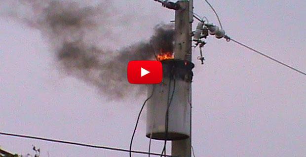 En el Táchira también explotaron algunos transformadores eléctricos de CORPOELEC