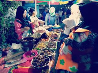 Penjual Makanan Jawa di Kelapa Sawit Expo 2018