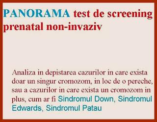 pareri forumuri test panorama anomali genetice fetale