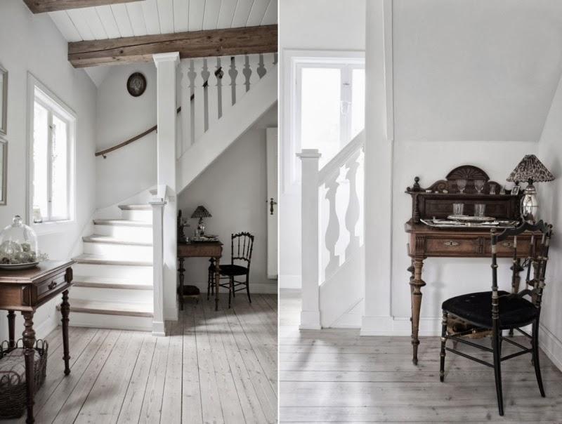 Tradycyjny, skandynawski dom z rustykalną nutą, wystrój wnętrz, wnętrza, urządzanie domu, dekoracje wnętrz, aranżacja wnętrz, inspiracje wnętrz,interior design , dom i wnętrze, aranżacja mieszkania, modne wnętrza, styl skandynawski, drewniane belki, białe wnętrza