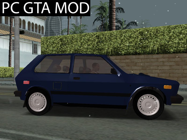 Free Download YUGO GV 55 US  Mod for GTA San Andreas.