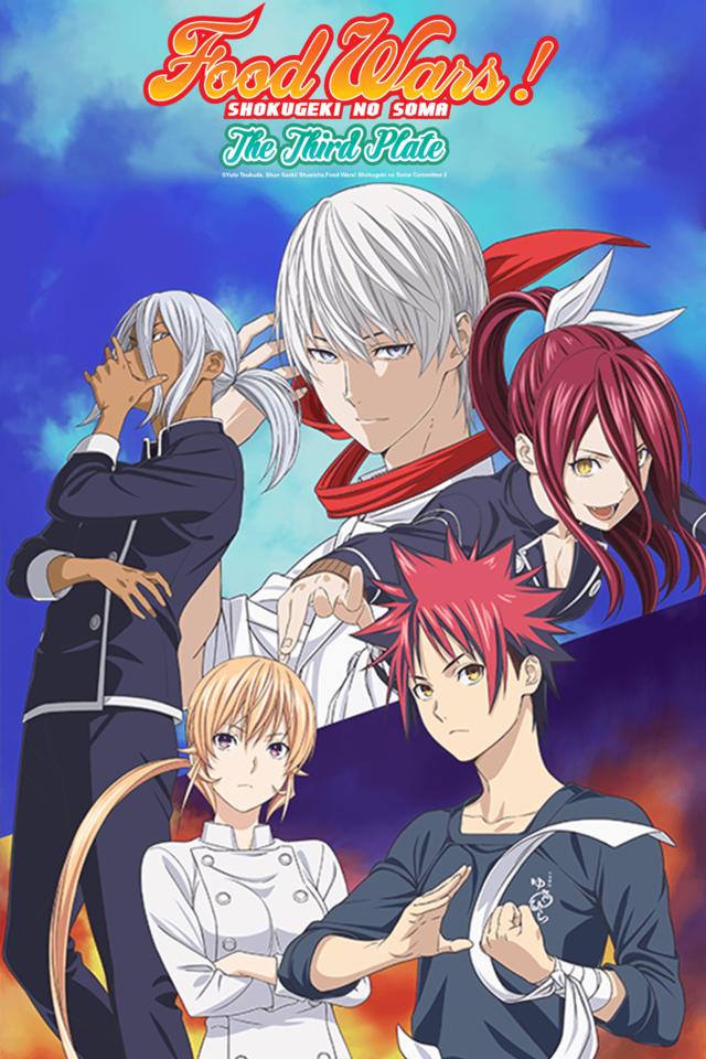 Shokugeki no Souma: San no Sara, Anime Shokugeki no Souma: San no Sara,Tải Về Shokugeki no Souma: San no Sara