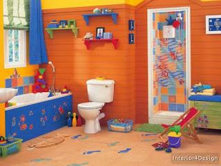 Children's Bath Decorations