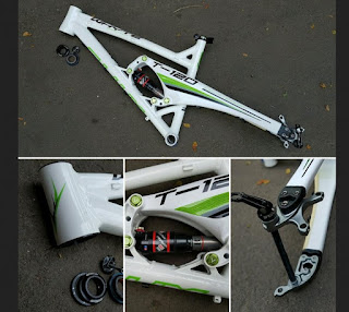 Frame Sepeda Carbon Alloy WHYTE T120 Fulsus Trail All Mountain