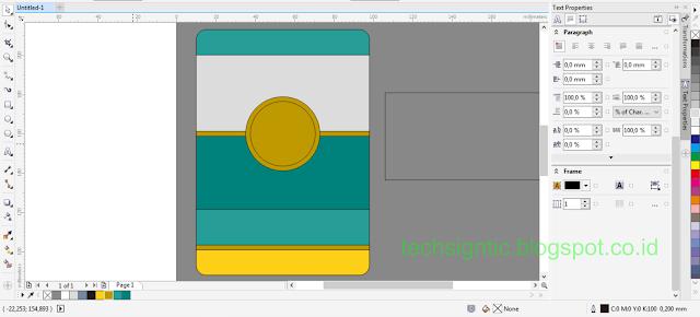 Membuat ID Card Menggunakan CorelDraw 14