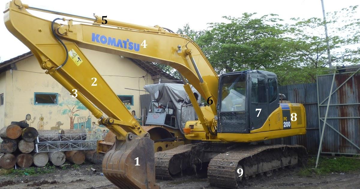 200 Gambar Dan Nama Komponen Excavator Paling Keren ...