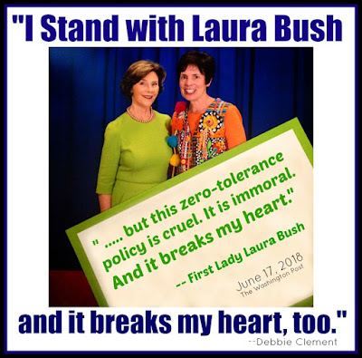 Laura Bush and Debbie Clement on Zero-Tolerance and Family Separation