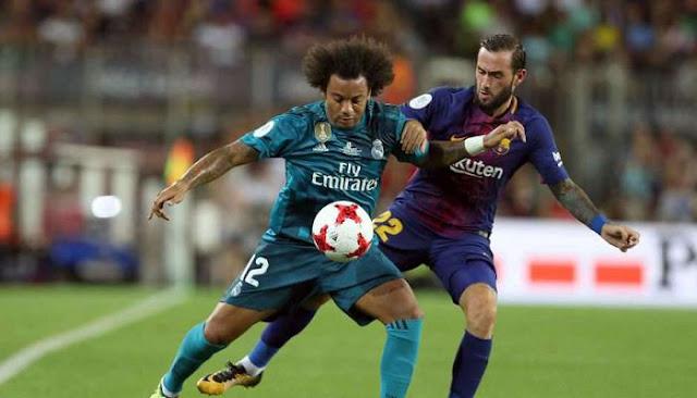 Real Madrid vs Barcelona en vivo online vuelta Supercopa