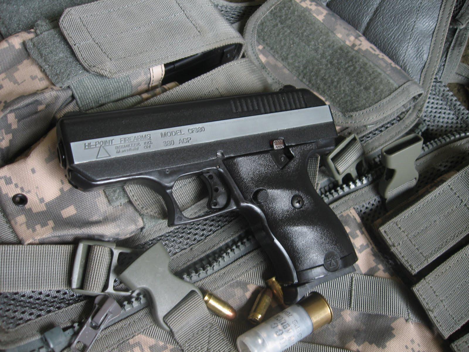 The Modern Shooter: Handgun review: Hi-point cf 380