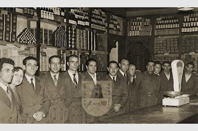 Otra foto del personal del economato de Barruelo