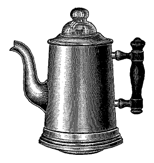 coffee pot image kitchen clip art