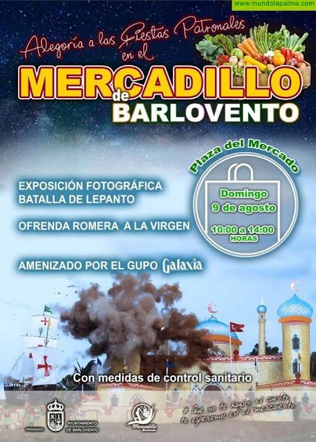 """Mercadillo de Barlovento """"Alegoría a las Fiestas Patronales"""""""