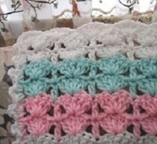 Baby's First Crochet Blanket - Free Pattern