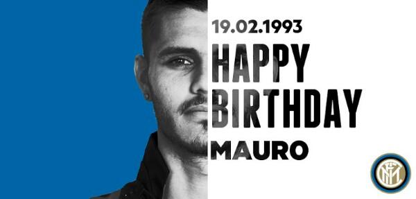 Buon compleanno Mauro Icardi