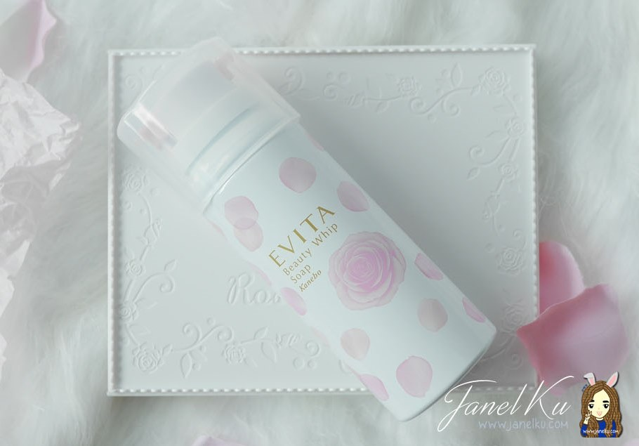 Prettiest Foam Cleanser ever? Evita Beauty Whip Soap by Kanebo!