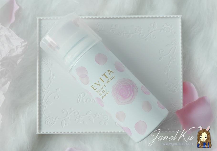 Prettiest Foam Cleanser ever? Evita Beauty Whip Soap by Kanebo!