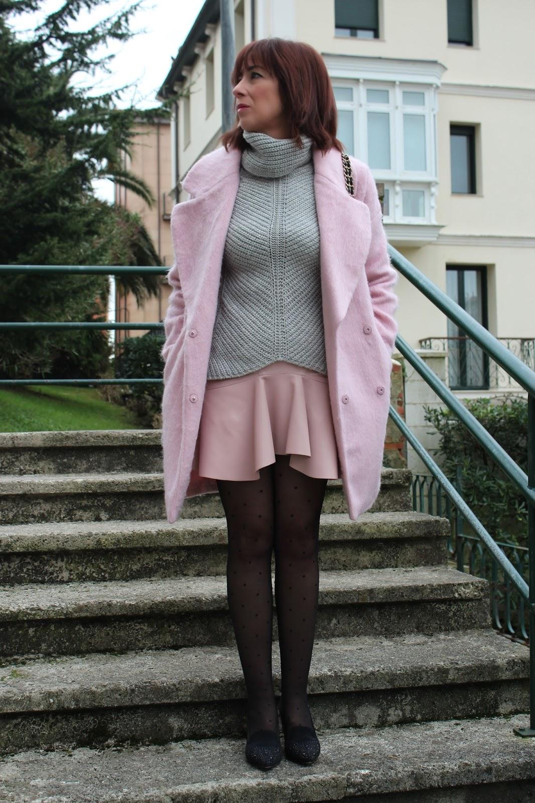 Br jula de estilo mis looks rosa y gris - Brujula de estilo ...