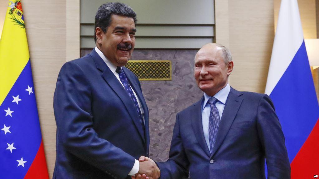 La estrecha relación entre Maduro y Putin data desde la era chavista / AP