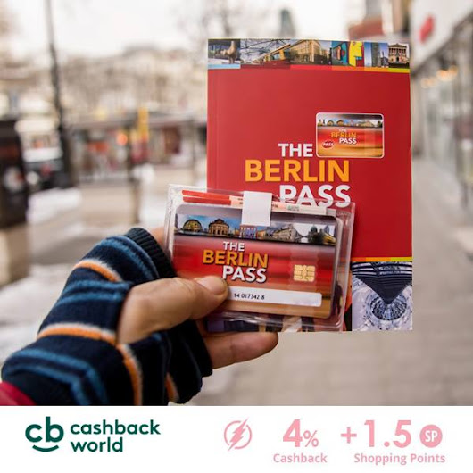 Get the Berlin Pass cheaper with Cashback World
