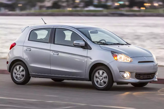 Feature Mitsubishi Mirage