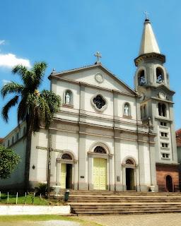Igreja Matriz, em Pinto Bandeira