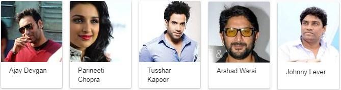 Golmaal Again Movie Star Cast