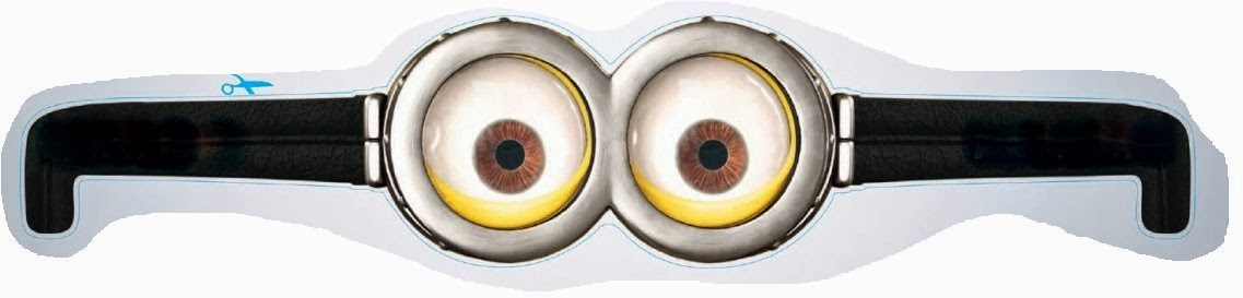graphic regarding Minion Printable Eyes known as Minions Googles, Free of charge Printables. - Oh My Fiesta! within english