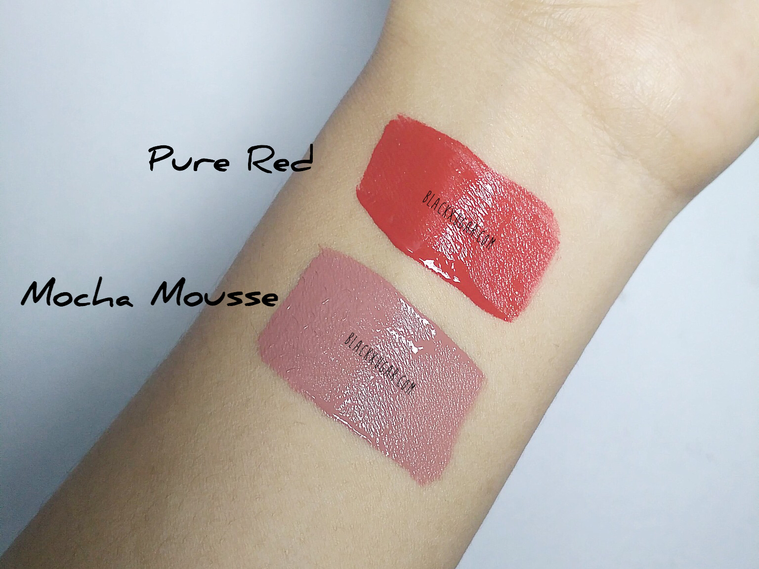 Zoya Lip Paint Pure Red Mocha Mousse Review Adhels Beauty Cafe When Applied