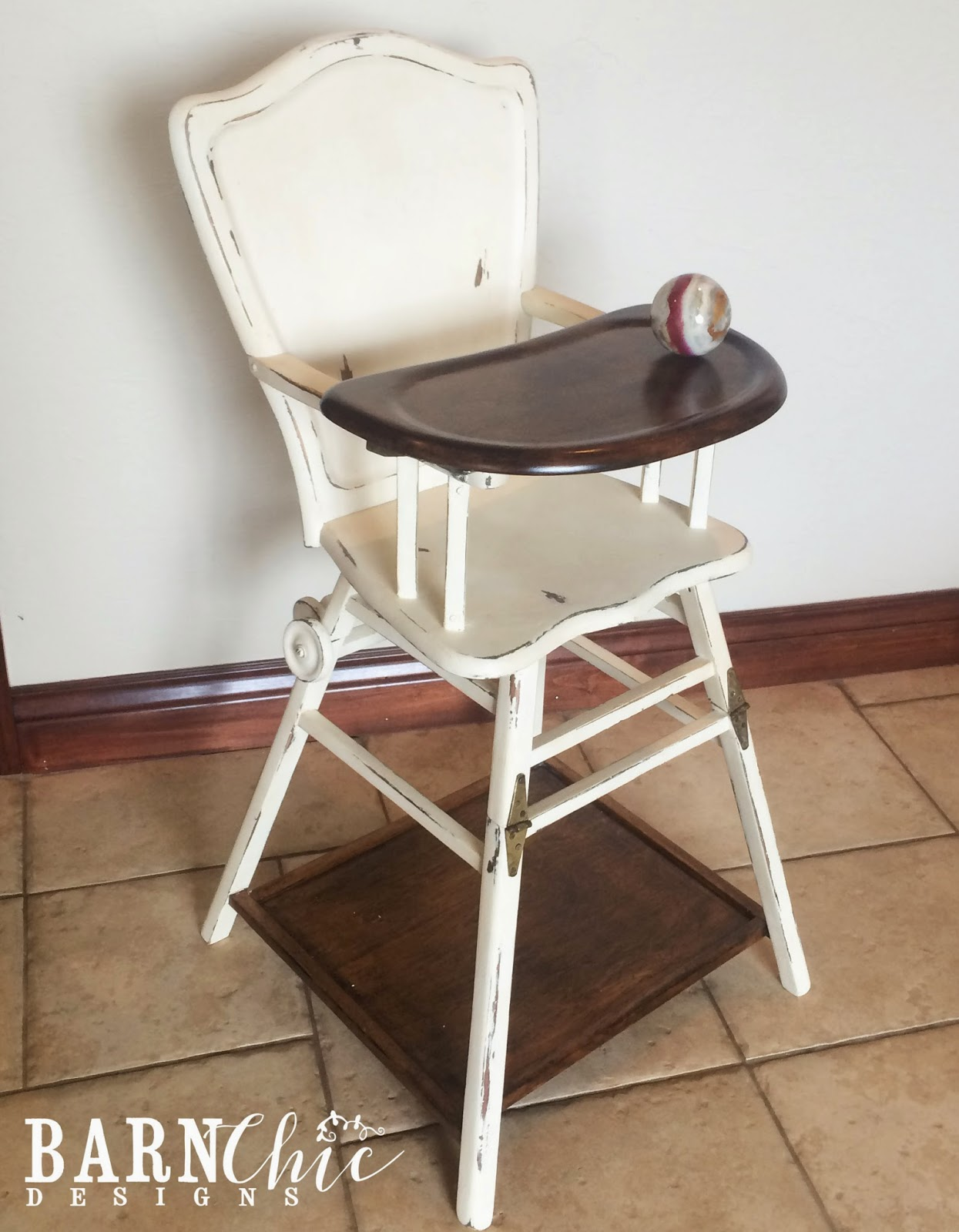 Stylish High Chair One And A Half Recliner Barn Chic Designs The