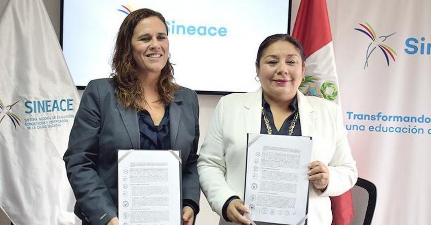 SINEACE y DRELM firmaron convenio de cooperación interinstitucional - www.sineace.gob.pe