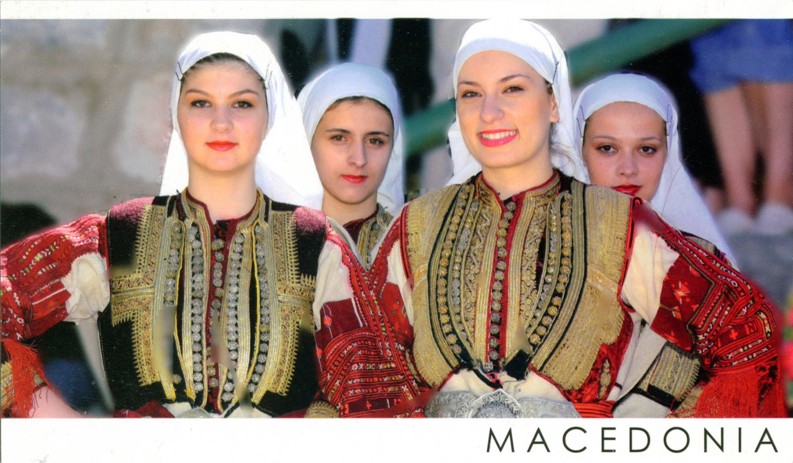 MACEDONIAN FOLK COSTUM...
