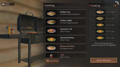 Resep Makanan Lifeafter