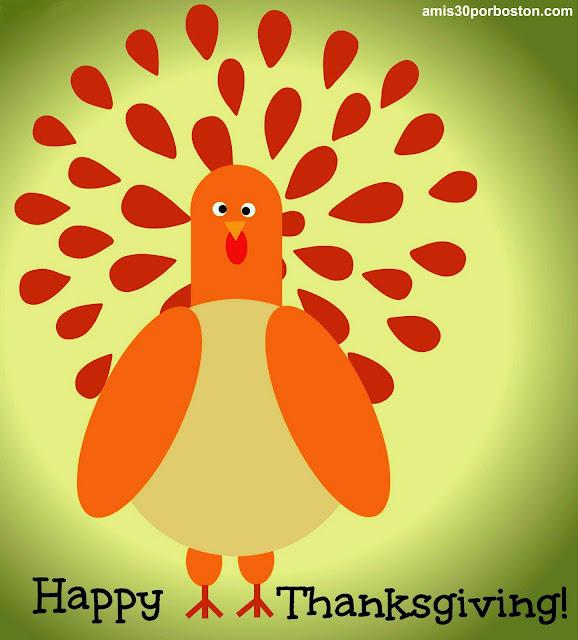 Mi Dibujo del Pavo de Thanksgiving