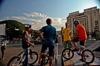 In Skate Park Brasov