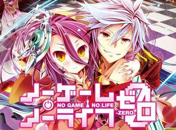 فيلم الانمي No Game No Life Zero مترجم عدة روابط
