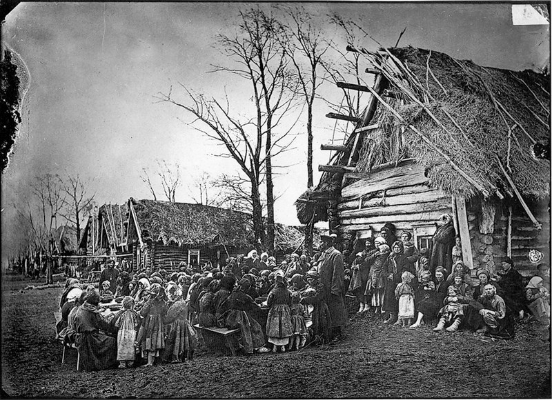 black white photos of life in russia more than 100 years ago