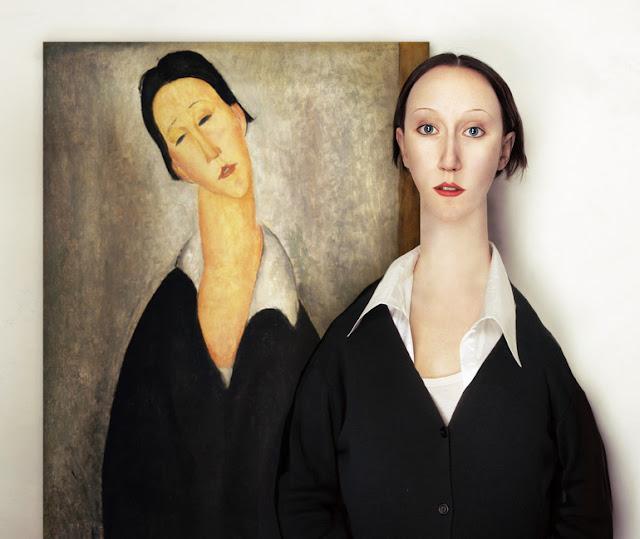 Amadeo Modigliani (1884 - 1920) - Retrato de uma mulher polonesa