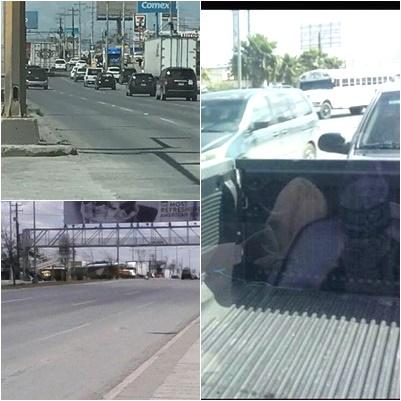 """VIDEOS; """"EMBOSCAN A POLICÍA FEDERAL EN REYNOSA ; HAY BLOQUEOS Y PONCHA LLANTAS"""""""