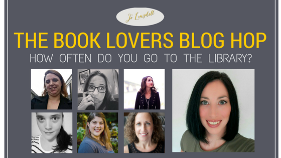 Book Lovers Blog Hop: How often do you go to the library?