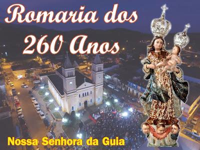 Festa em Louvor a Nossa Senhora da Guia 2017, 260 anos da Imagem no Município de Eldorado