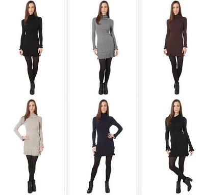 Vestidos de lana y cachemir