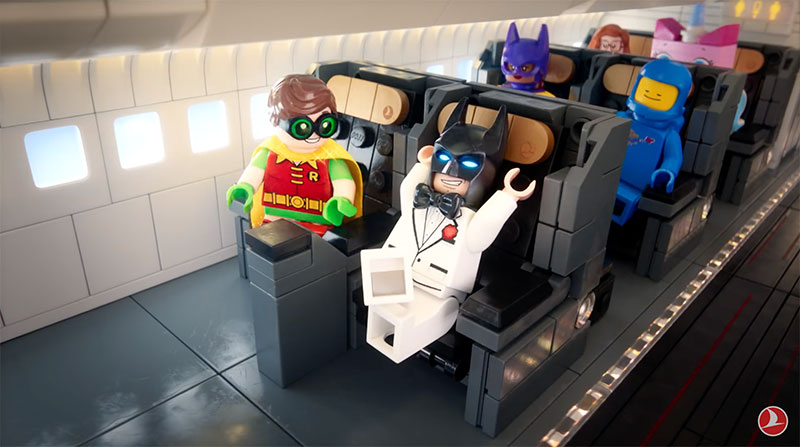 Turkish Airlines Safety Video with LEGO Movie Characters